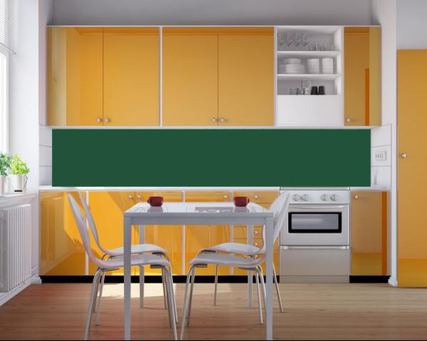 Kính sơn ốp bếp