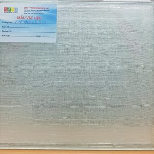 Fabric Laminated Glass